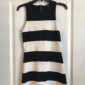 Sanctuary Black and White Stripe Dress.